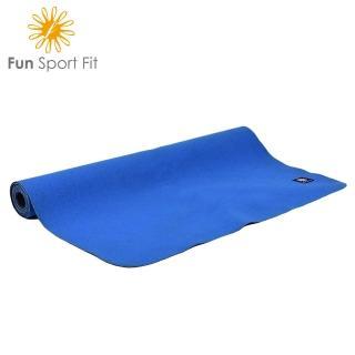 【Fun Sport】俐落者-高效超止滑瑜珈墊 2mm 送卡蜜拉提背帶(鋪巾 鋪巾墊 運動墊 瑜伽墊)
