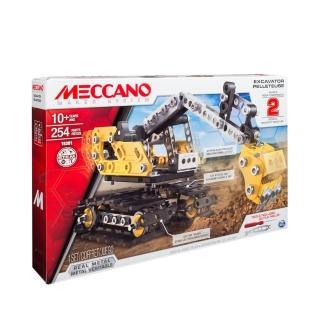 【MECCANO】二合一挖推土機變形組(模型)
