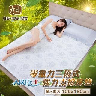日本旭川AIRFit+零重力支撐床墊-單人