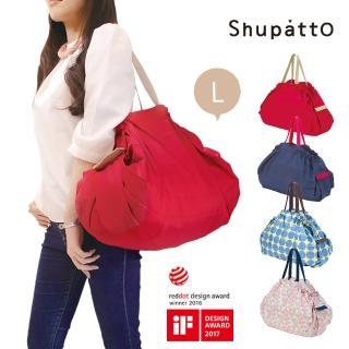 【日本SHUPATTO】可折疊手提肩背兩用包L號(共4色)