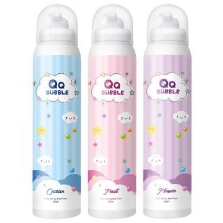 【QQ Bubble】神奇好玩魔法沐浴泡泡慕斯 任選3入玩樂組