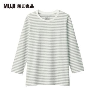 【MUJI 無印良品】女印度棉天竺七分袖T恤(共5色)