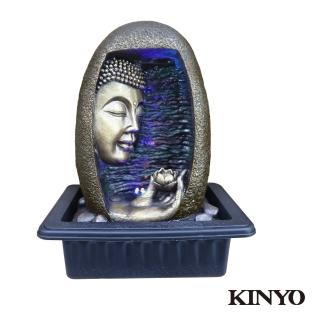 【KINYO】拈花微笑-流水飾品系列(GAR-6368)