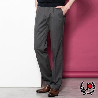 【極品西服】簡約透氣直條打褶西褲_灰(BS805-2)