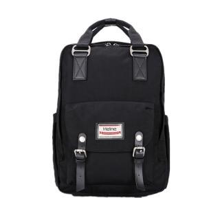 【Heine 海恩】WIN-191P 加大版媽媽後背包 大容量 收納款後背包 黑色(後背包 休閒包 旅行背包)