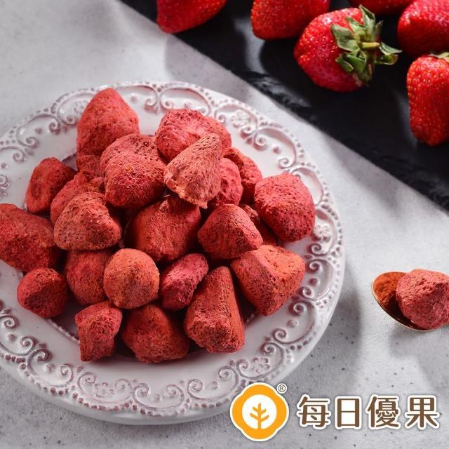 【每日優果】草莓凍乾(30G)