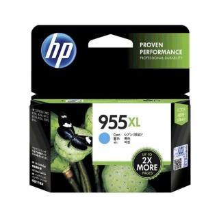 【HP 惠普】955XL 高列印量 青色 原廠墨水匣(L0S63AA)