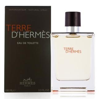 【Hermes 愛馬仕】大地男性淡香水100ml(TERRE DHERMES)