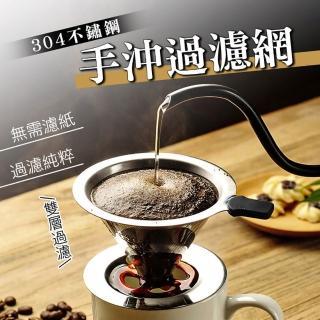 【德國康尼菲】免燙手不鏽鋼雙層加密咖啡過濾器