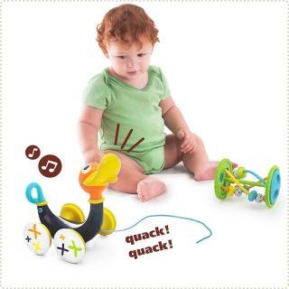 【以色列 Yookidoo】串珠呱呱鴨拉車