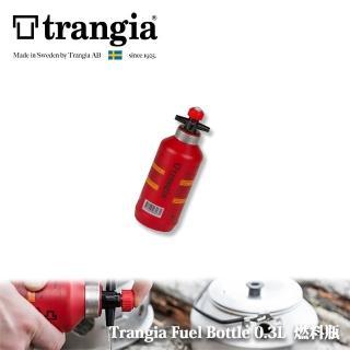 【Trangia】瑞典 Fuel Bottle 0.3L 燃料瓶 燃料罐(經典紅)