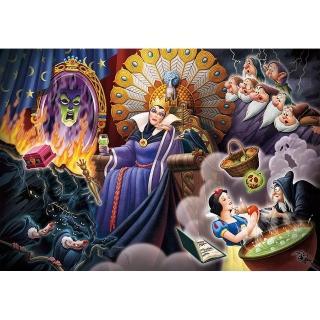 【TENYO】500純白小片 迪士尼家族 扭曲的自尊白雪  壞皇后(迪士尼 家族)
