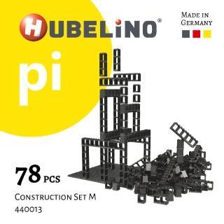 【德國HUBELiNO】Pi 系列軌道積木 78pcs(基礎顆粒)