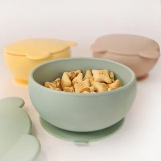【土耳其minikoioi】防滑矽膠吸盤碗 6色