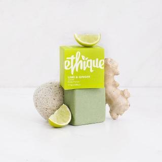 【紐西蘭ethique】青檸薑茶-萊姆&薑身體磨砂膏(去角質)