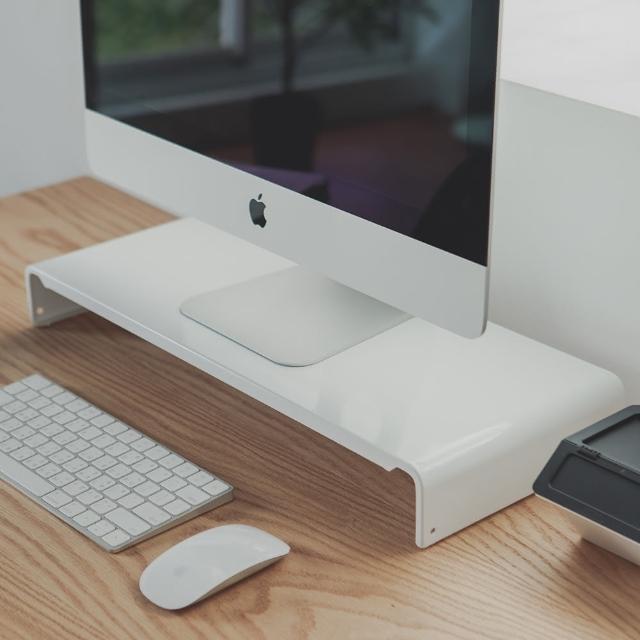 【完美主義】第二代高質感鋼製LCD螢幕架/桌上架(三色可選)/