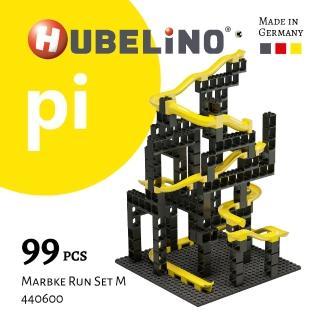 【德國HUBELiNO】Pi 系列軌道積木 99pcs(基礎顆粒+軌道套件)