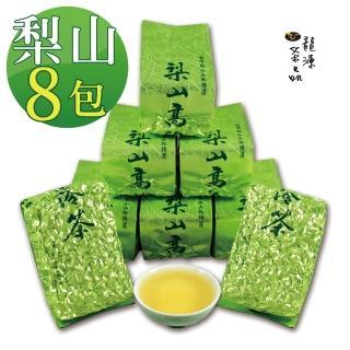 【龍源茶品】梨山甘馥清香烏龍茶葉8包組(150g/罐 - 共2斤 / 附提袋)