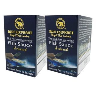 【藍象-買一送一】泰式調味-魚露迷你包(7ml X 12入)