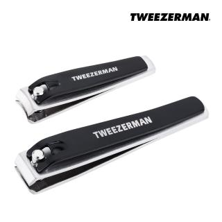 【Tweezerman】專業指甲剪雙用組(原廠公司貨)