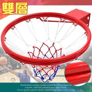 標準18吋雙層金屬籃球框-含籃球網(B004-1729)