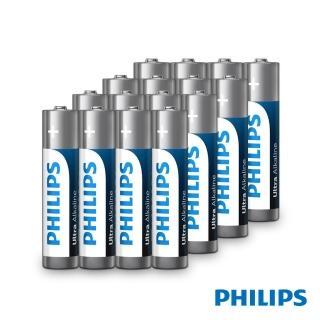 【Philips 飛利浦】3號超鹼電池(4入)