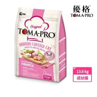 【TOMA-PRO 優格】經典系列貓飼料-成幼貓 雞肉+米 13.6 公斤(化毛高纖配方)