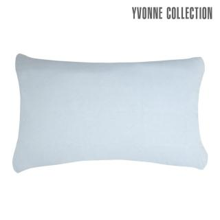 【Yvonne Collection】素面枕套_可搭配星空系列(正面:藍/背面: 淺藍)