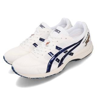 【asics 亞瑟士】慢跑鞋 Tarther Japan 虎走 運動 男鞋 亞瑟士 日本製 Solyte輕量 透氣 白 藍(1013A007100)
