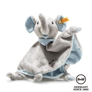 【STEIFF】藍色大象 Trampili Elephant(嬰幼兒安撫巾)