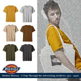 【Dickies】DICKIES 重磅heavy weight口袋短T 美式工裝 全新真品(美式工裝)