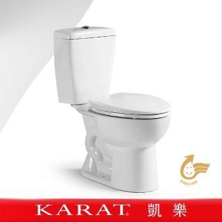 【KARAT凱樂】麻吉 分體馬桶(二件式馬桶/雙體馬桶/省水馬桶/金級省水)