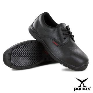 【PAMAX 帕瑪斯】皮革製高抓地力安全鞋(PZ10101FEH /男女)