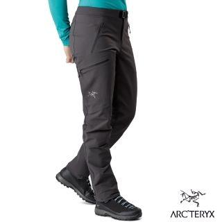 【Arcteryx 始祖鳥】女 Sigma AR 軟殼長褲(碳黑)