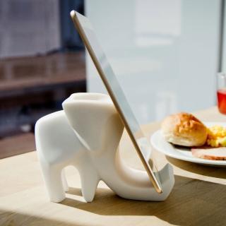 【Gallery Chuan 筌美術】快樂大象好夥伴_石雕(動物 大象 送禮 限量)