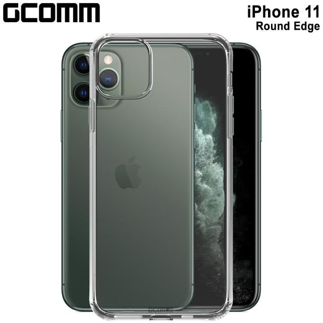 【GCOMM】iPhone 11 清透圓角防滑邊保護套 Round Edge(iPhone 11)