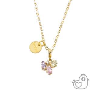 【彩糖鑽工坊】彩糖貝貝 彩色鋯石項鍊(親子 閨蜜 彩糖貝貝繽紛寶石系列)