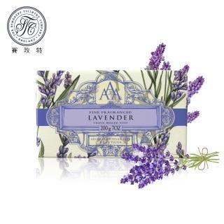 【Somerset 賽玫特】英國AAA花卉護膚香皂200g-薰衣草