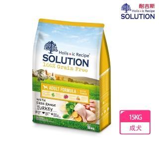 【耐吉斯】超級無穀系列狗飼料-成犬 火雞肉配方 15 公斤(美國放養火雞肉)