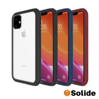 【SOLiDE】維納斯 iPhone 11軍規防摔手機殼(iPhone 11 6.1吋)