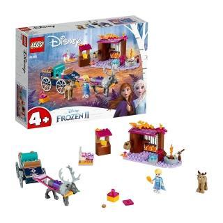 "【LEGO 樂高】迪士尼公主系列 Elsa""s Wagon Adventure 41166 積木 公主(41166)"