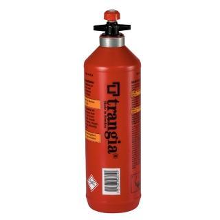 【Trangia】Trangia Fuel Bottle 燃料瓶罐-1.0 L 經典紅 單入(Trangia瑞典戶外野遊用品)