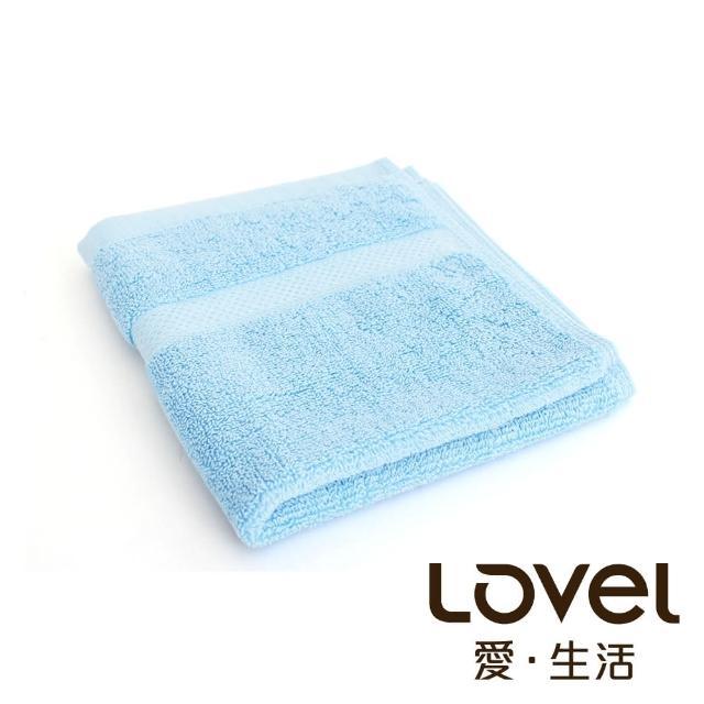 【LOVEL】嚴選六星級飯店純棉方巾(共5色)/