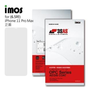 【iMos】Apple iPhone 11 Pro Max(3SAS 螢幕保護貼)