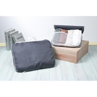 【EZlife】旅行衣物壓縮收納袋三件套(1L+2M)