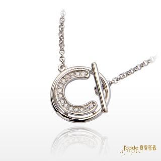 【J'code 真愛密碼】愛戀時空 純銀項鍊/女款(時尚銀飾)