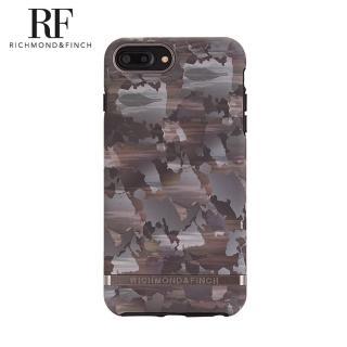 【Richmond&Finch】瑞典手機殼 啞光黑框 - 抽象水墨(iPhone 6/6s/7/8 Plus)