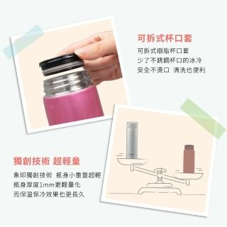 【ZOJIRUSHI 象印】480ml可分解杯蓋不鏽鋼真空保溫杯(SM-JF48)