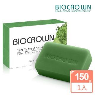 【BIOCROWN 百匡】茶樹精油清新潔顏皂(150g)