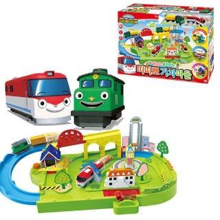 【TITIPO】火車村莊遊戲組(火車嘟嘟嘟)